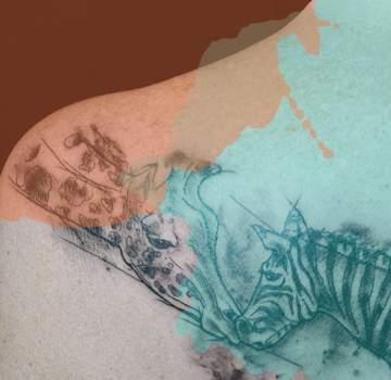 La cicatrisation du tatouage